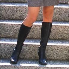 「ブーツを履く女性が多い理由 ←この記事ど」の質問画像