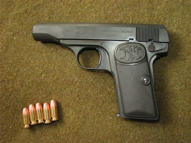 ブローニング M1910 - オー、捨...