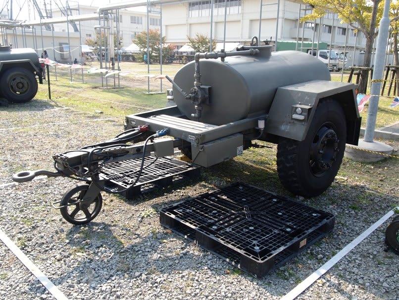 1t水タンクトレーラ 陸上自衛隊 ...