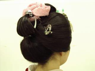 新日本髪(後ろ)