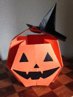 クリスマス 折り紙 折り紙 ハロウィン かぼちゃ : blog.goo.ne.jp