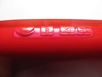 カバーに覆われる側面のキーは押しづらくなる