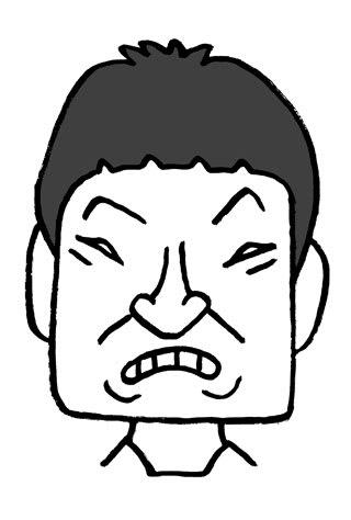 ザブングル加藤歩の似顔絵