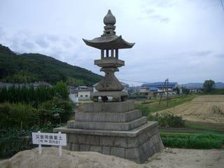 吉備津神社参道の常夜灯