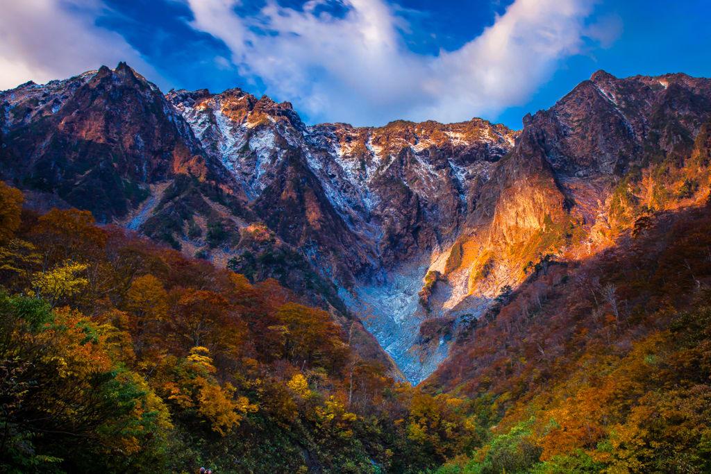 谷川岳/一の倉沢の紅葉