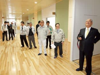 湯川中学校完成、3月19日落成式...
