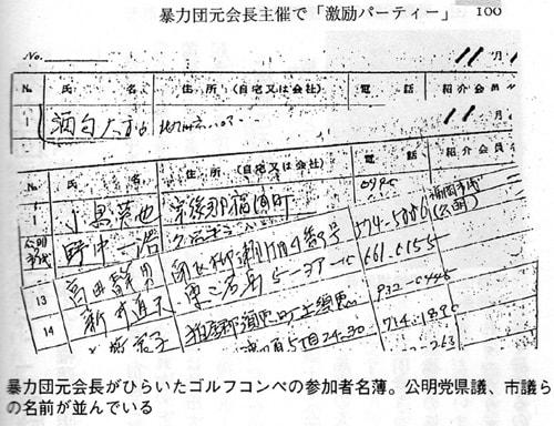 暴力団と権藤議員 - 創価学会の...