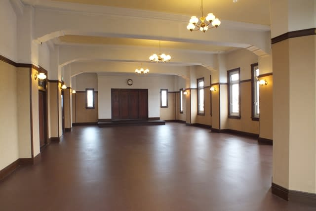 旧太田市役所の2階