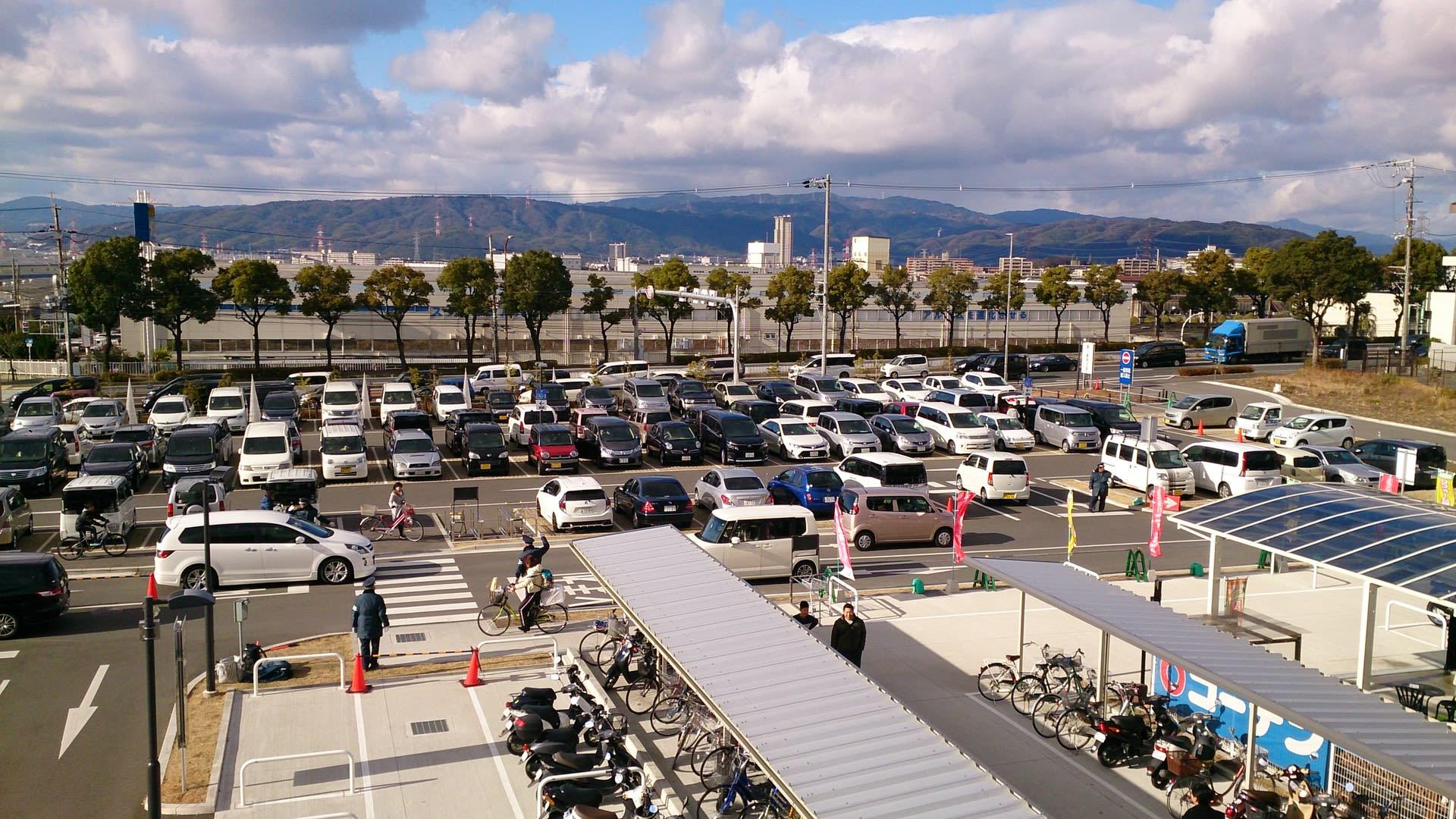 ニトリモール 枚方 駐車場 それほどでも - お山に行こう