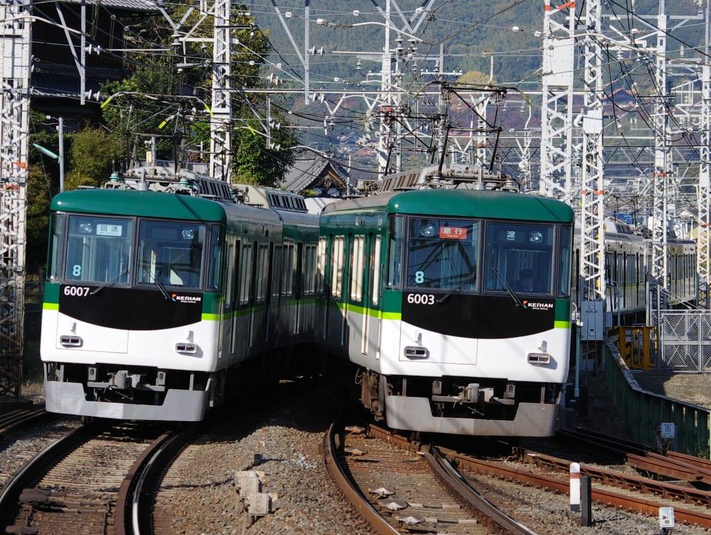 京阪6000系「急行」淀行き