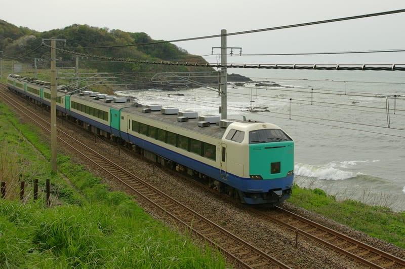485系(JR東日本改造車)特急「北越」