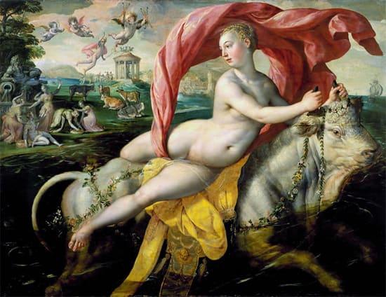 The Rape of Europa  Marten de Vos