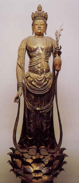 仏像の歌3 聖林寺 十一面観音 - 海に吹く風
