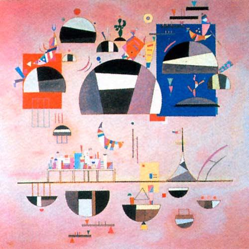 ロシア出身の画家「カンディンスキー作」:適度の変動