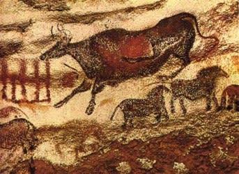 ラスコー洞窟壁画> 「入り口側...