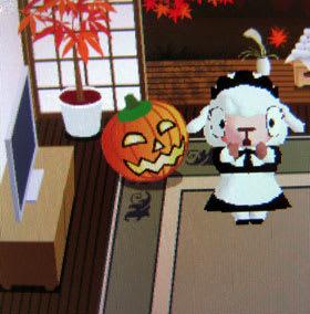 ハロウィンじゃないメイドのメイちゃん