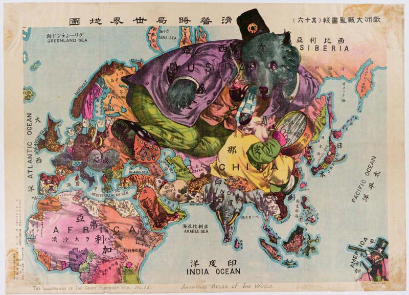 大正時代の地図 - 北面武士
