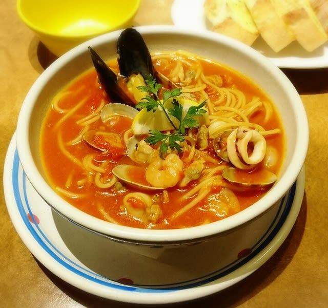 スープ パスタ トマト