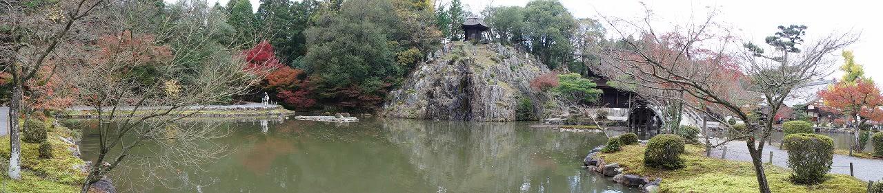 虎渓山永保寺の紅葉の画像