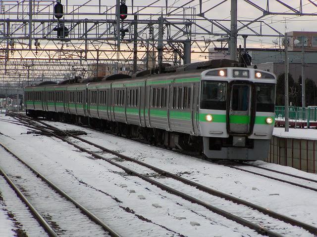 JR北海道 721系(1) - 鉄パパの...