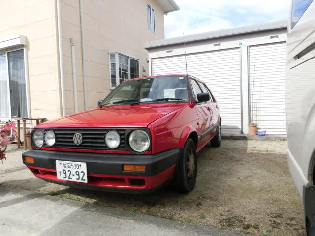 Vw golf2 vespa garage mikuriya 39 s blog for Garage volkswagen marennes 17