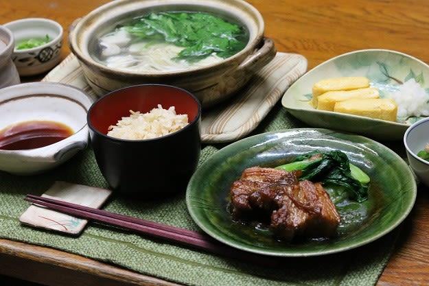 角 豚 煮 献立 の 豚の角煮の簡単極上レシピ!豚肉好きのための作り方 [男の料理]