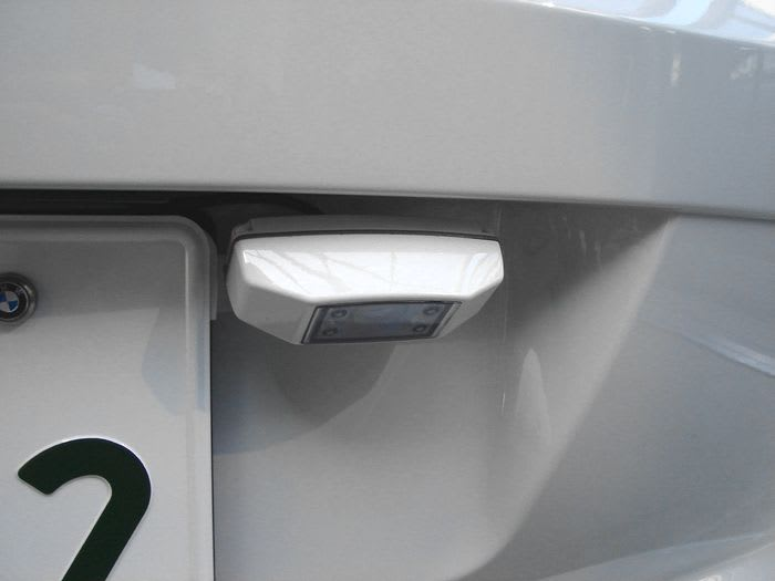 バックカメラ(panasonic Tw Cc160b) La La La Tt & Z4 ~ Audi Tt