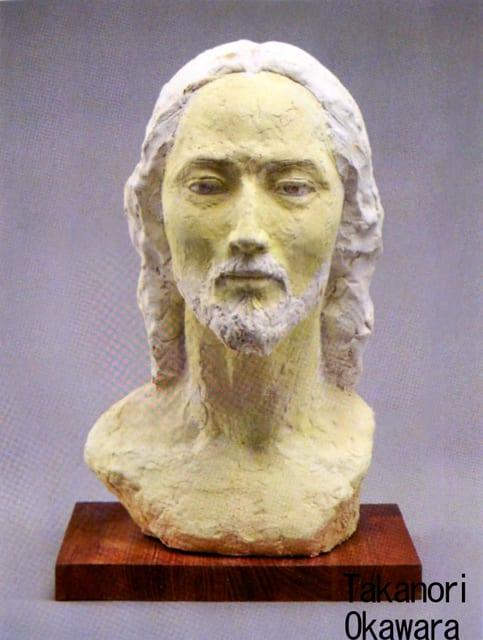 彫刻家】「キリスト・再び」【現代彫刻家】大河原隆則 - <彫刻家 ...