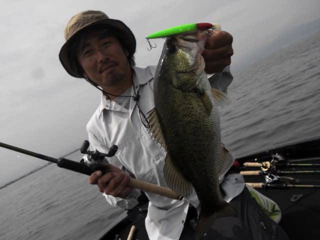 本日は琵琶湖です!
