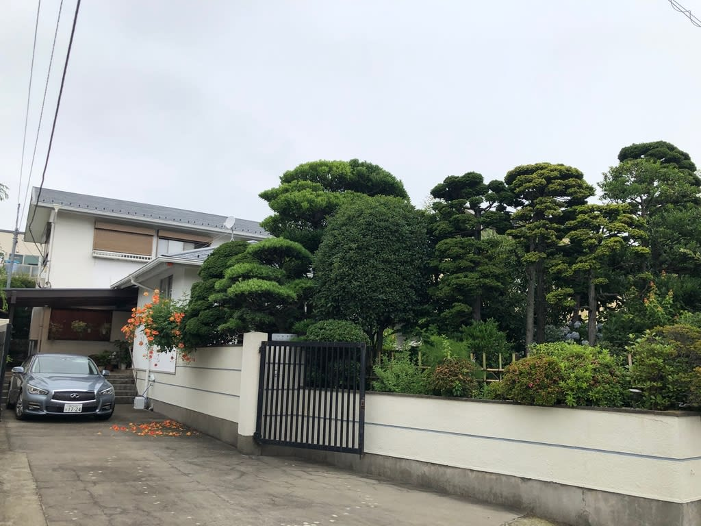 曾野綾子・三浦朱門邸 - 川塵録