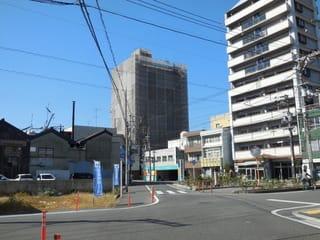 今町のマンションの改修工事