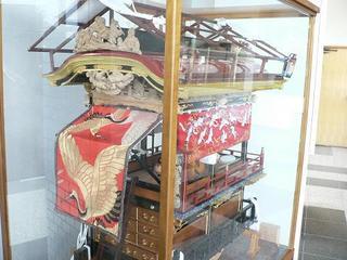 屋台の模型