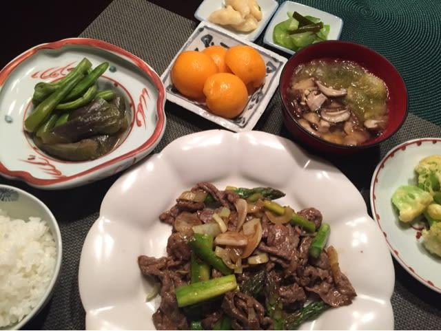 緑茶けた(日本語へん?)食卓 -...