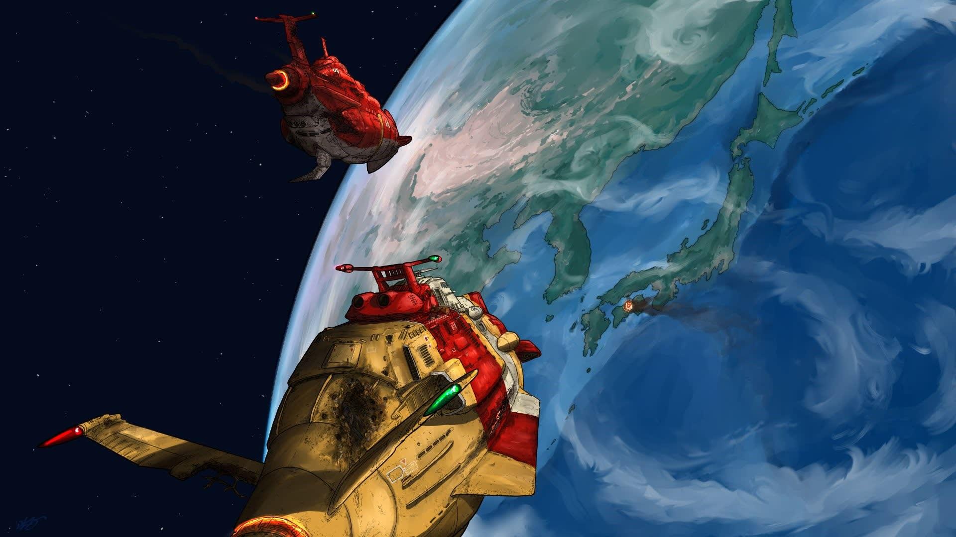 宇宙戦艦ヤマト2199外伝 第二次火星沖海戦 後編 我が家の地球防衛艦隊