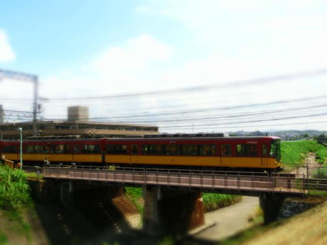 EXILIM EX-ZR300 ベストショット(ミニチュア)撮影