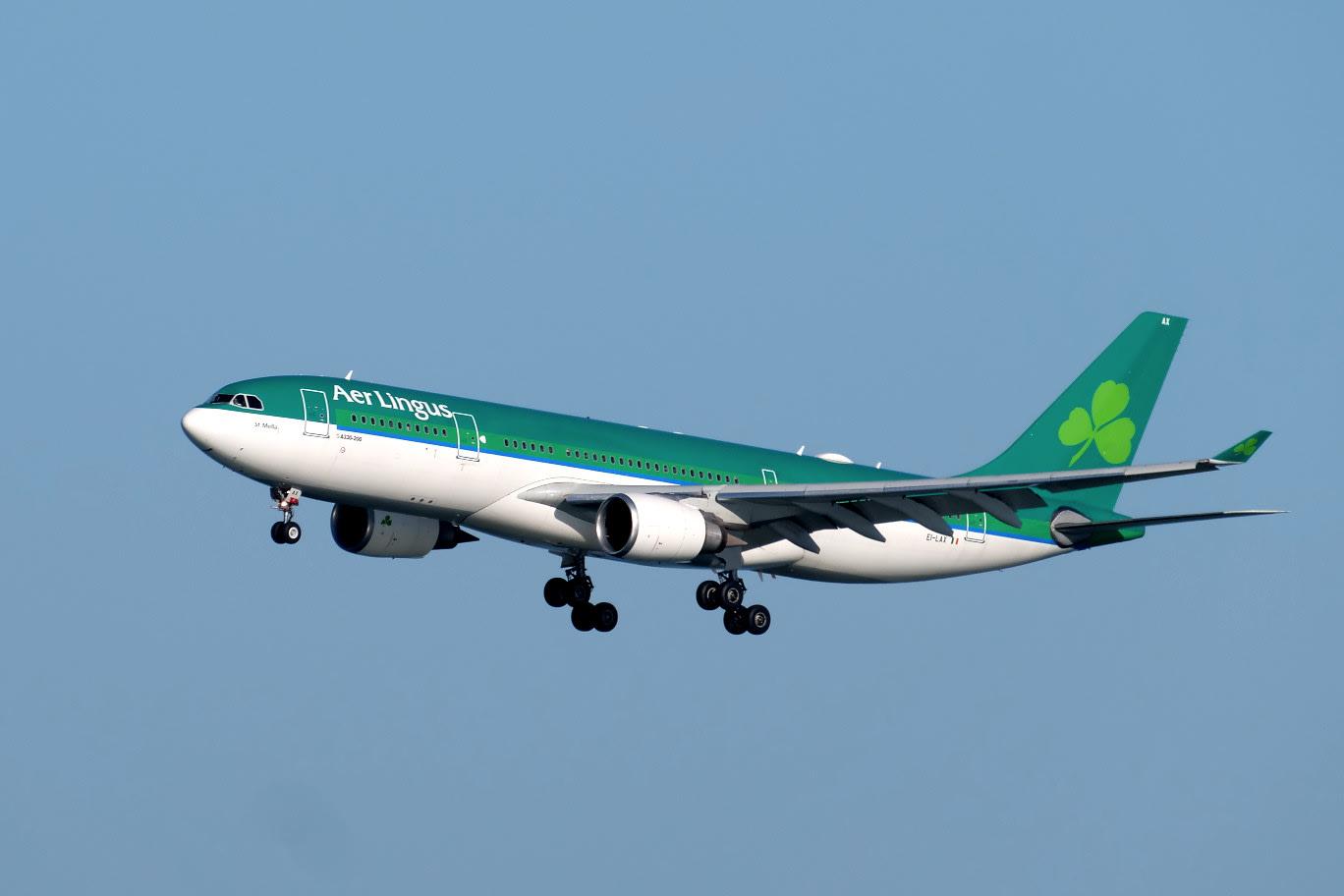 エアリンガスの A330 〜 サンフ...