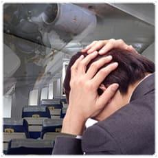 「飛行機が苦手。どうしたら克服できる? ←」の質問画像