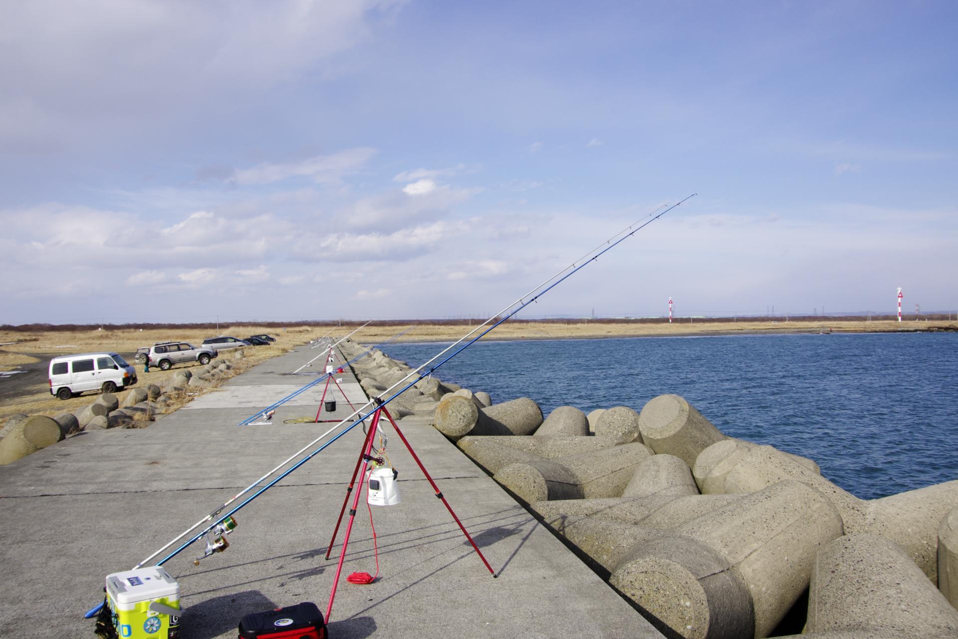 苫小牧 東港 釣り 苫小牧東港が釣り文化振興モデル港に指定されました