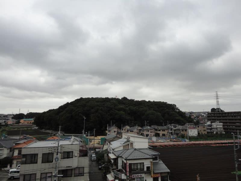 10月31日 台風一過の根岸台