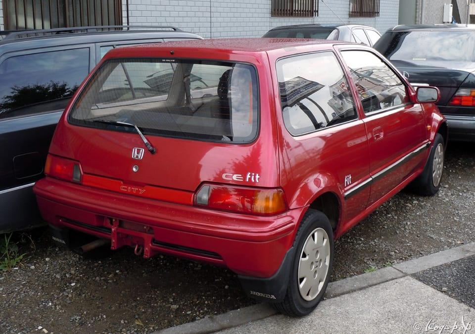 Honda City 1986- 先代から極端に変化した2代目のホンダ シティ - ☆ BEAUTIFUL CARS ...