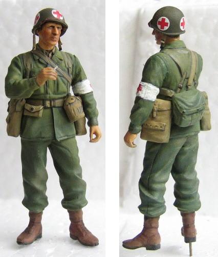 衛生兵 No3 - 模型ことのはぐさ