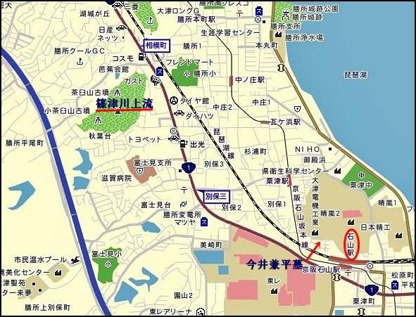 今井兼平の墓 - 平家物語・義経伝説の史跡を巡る