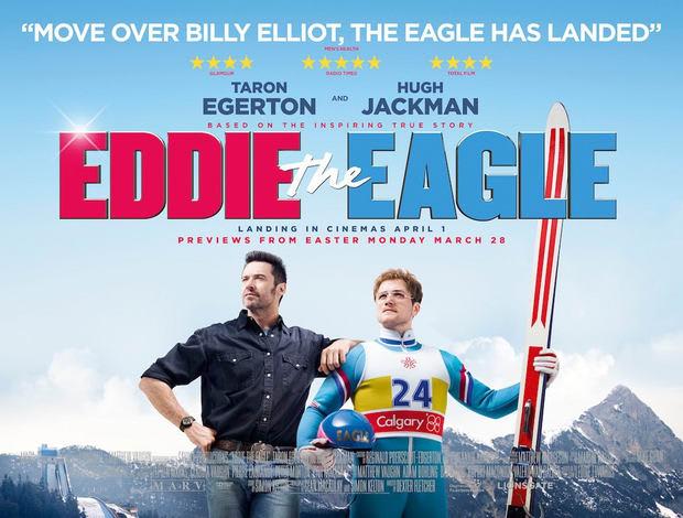 DVDスルー:イーグル・ジャンプ Eddie the Eagle ひたすら素晴らしく ...