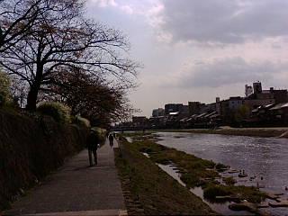 続いて、鴨川です。