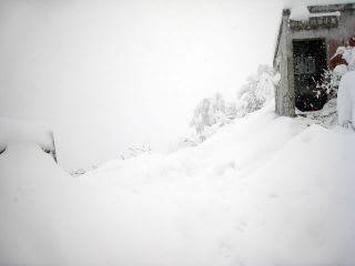 一番雪が多いところ。ここも上も今現在は普通に入れます