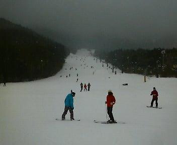 今日の猫山スキー場