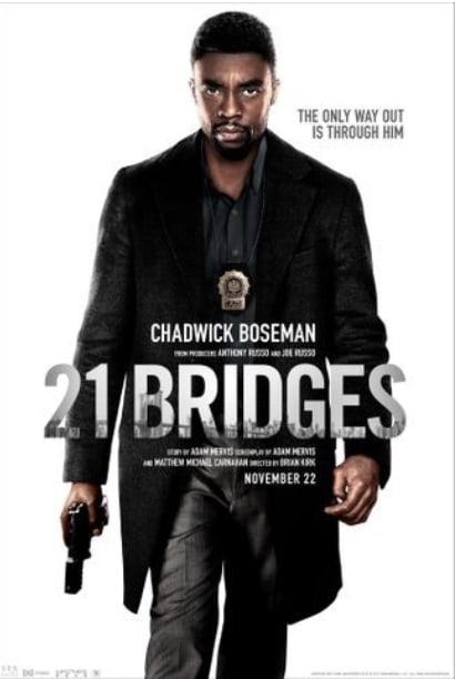 悪」への誘いにどう行動する『21ブリッジズ』⭐️5 - ちょっと気に ...