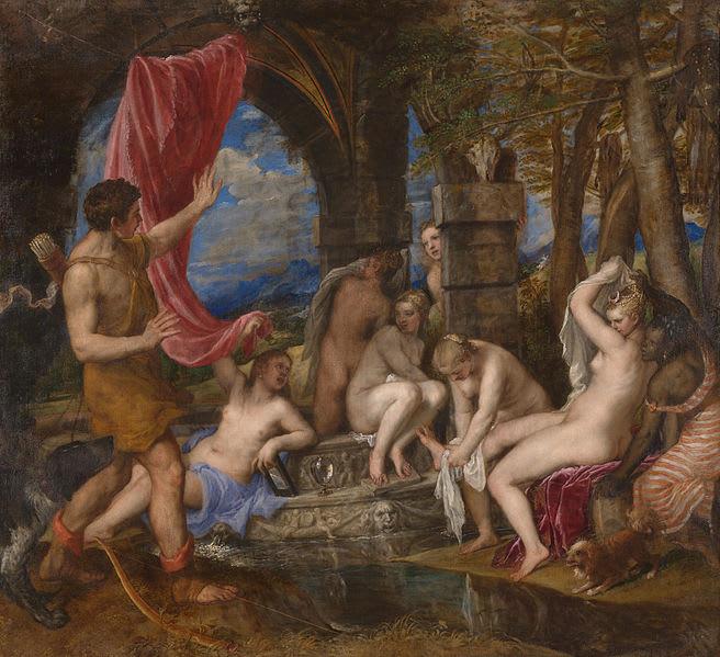 ディアナとアクタイオン1556 ~ 1559
