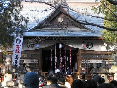 住吉神社初詣