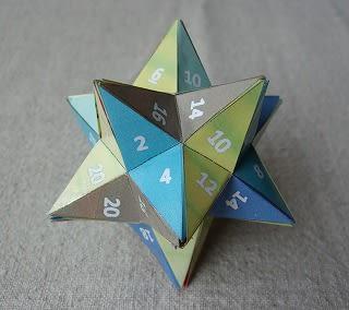 小星型十二面体と大星型十二面体...